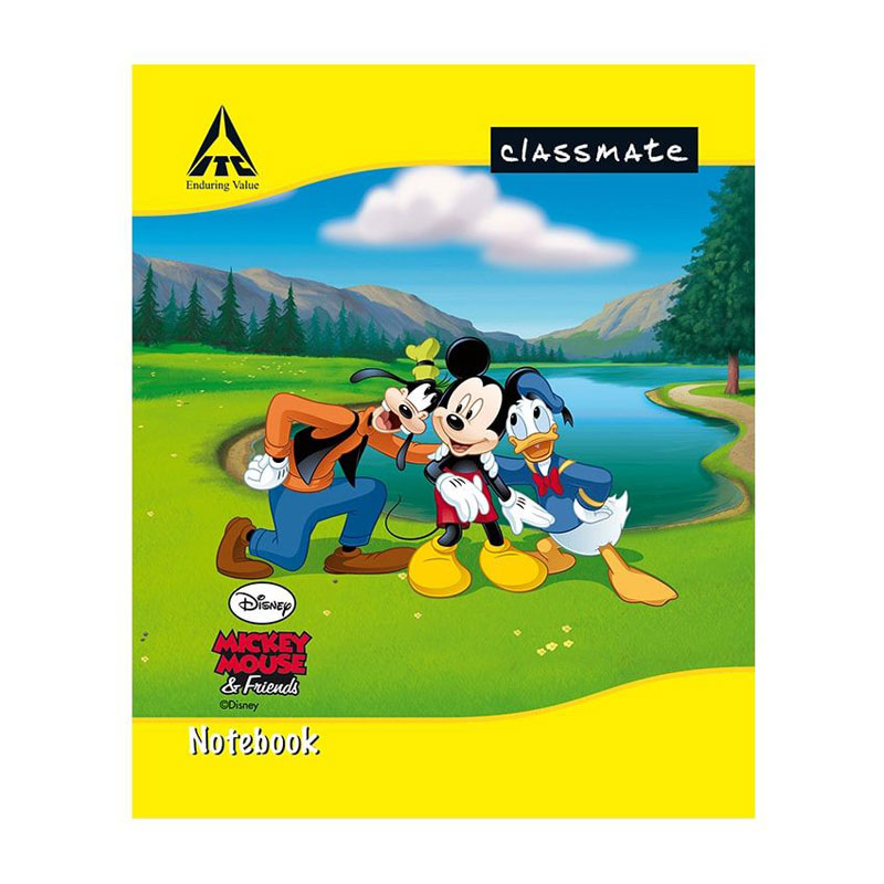 Classmate Notebook short size for primary classes