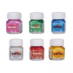 Camel Fabrica Acrylic Colours Pearl 4 Shades -