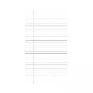 FS Writing Paper Double Line Double Sheet -
