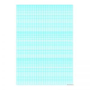 Semi Log Graph Paper A4 Size -