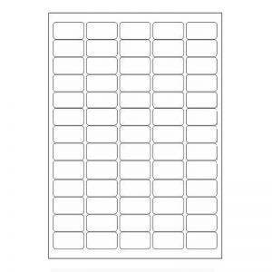 Multi Purpose Self Adhesive A4 Size Label Sheet -