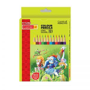 Camel Colour Pencil Half Size 12 Shades -