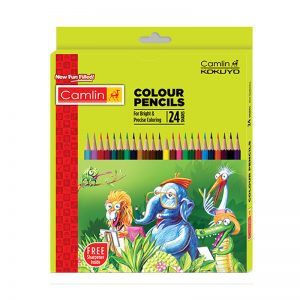 Camel Colour Pencil Full Size 24 Shades -
