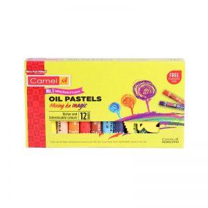 Camel Oil Pastel 12 Shades -
