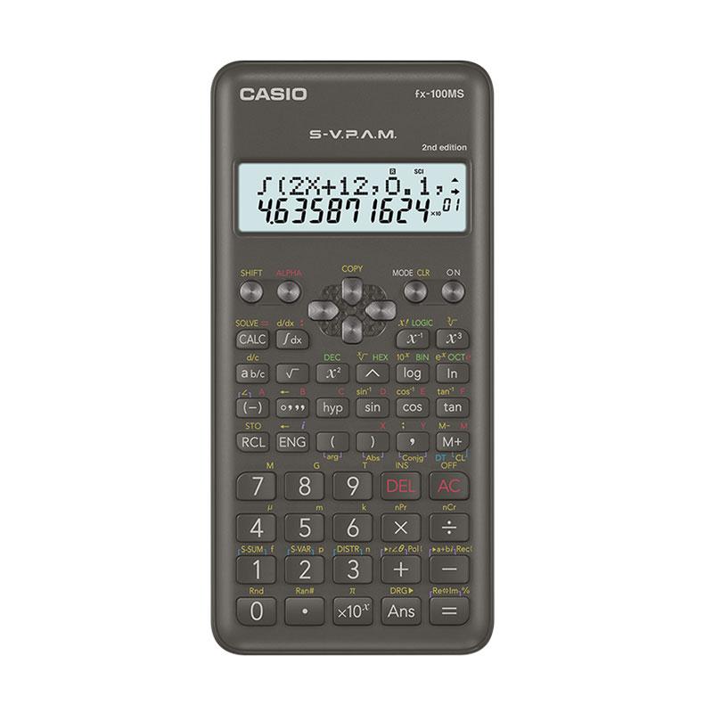 Casio FX-100MS 2nd Edition Scientific Calculator -