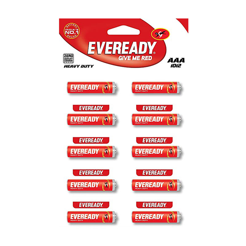Eveready Red Zinc Carbon Battery AAA -