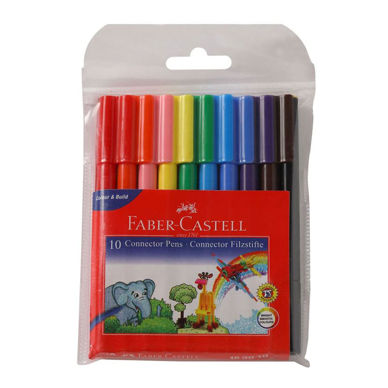 Faber-Castell Connector Pen 10 Shades -