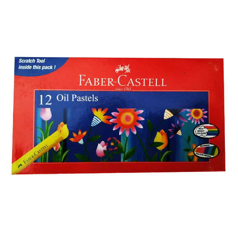 Faber-Castell Oil Pastel 12 Shades -