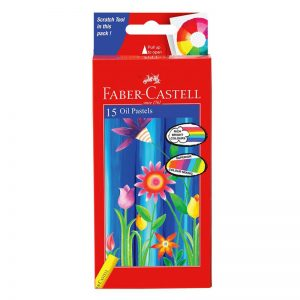 Faber-Castell Oil Pastel 15 Shades -