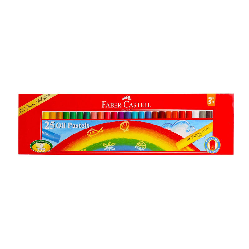 Faber-Castell Oil Pastel 25 Shades -