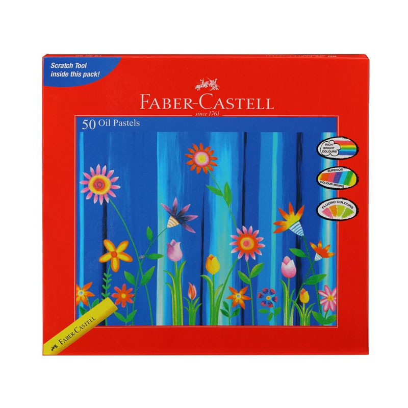 Faber-Castell Oil Pastel 50 Shades -