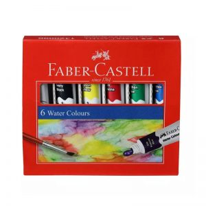 Faber-Castell Water Colour Tube 6 Shades -