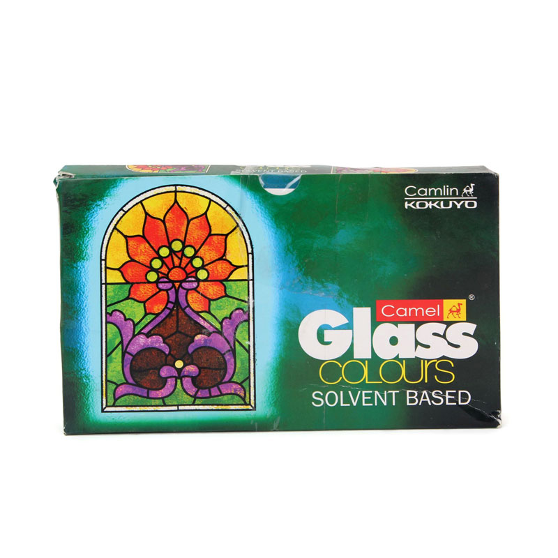 Camel Solvent Based Glass Colour 5 Shades -
