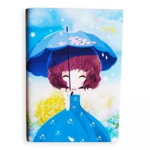 Trendy Multicoloured Mini Notebook -