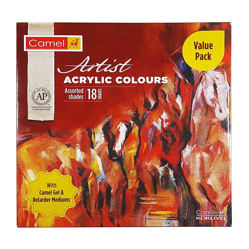 camel-artists-acrylic-colour-tube-18-shades