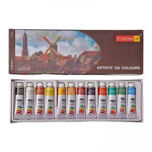 camel-artists-oil-colour-tube-12-shades