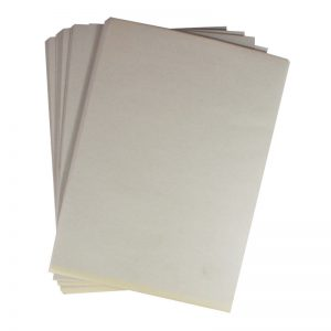 Rough paper, like newsprint paper, useful for rough work