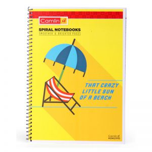 Camlin Spiral Notebook King (College) Size -