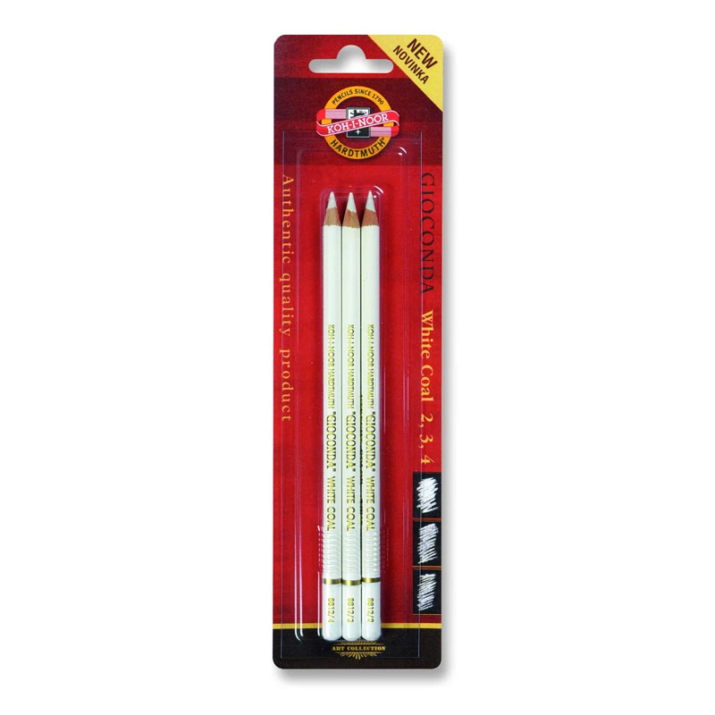 White Charcoal Pencil
