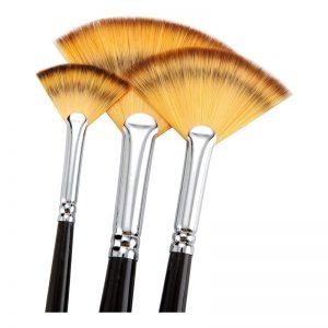 Fan Brush Set of Three