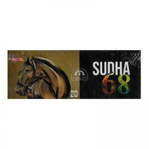 Sudha 68 Dry Colour Crayons 20 Shades