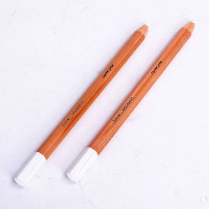White Charcoal Pencil Set of 2 -