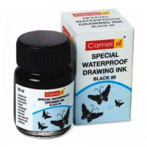 Camel Special Waterproof Drawing Ink (black) -