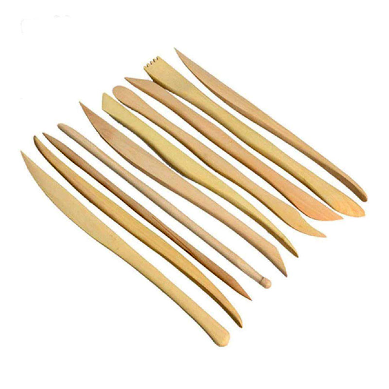 Wooden Clay Tool Set