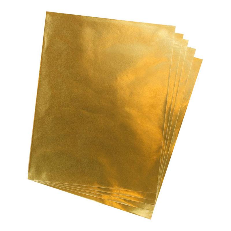 Metallic Gold Foil Sheet A4 Size -