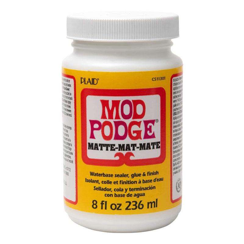 Mod Podge Matte Finish Gum 8 Oz 236 ml -