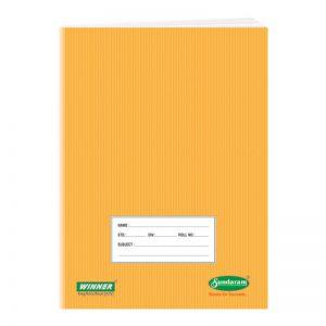 Sundaram Winner Notebook King (College) Size -
