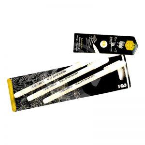 White Gel Pen 0.8 mm (Set of 3) -
