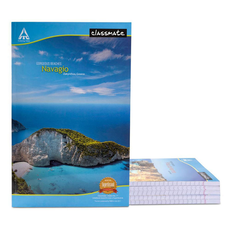 Classmate Notebook King Size 120 Pages for High School Classes