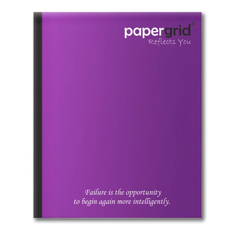 Papergrid short size notebook 72 Pages
