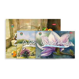 100% Cotton Watercolour Book A4 Size 250 GSM 15 Sheets Cold Press Hot Press Rough Finish