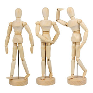 Flexible Wooden Human Manikin