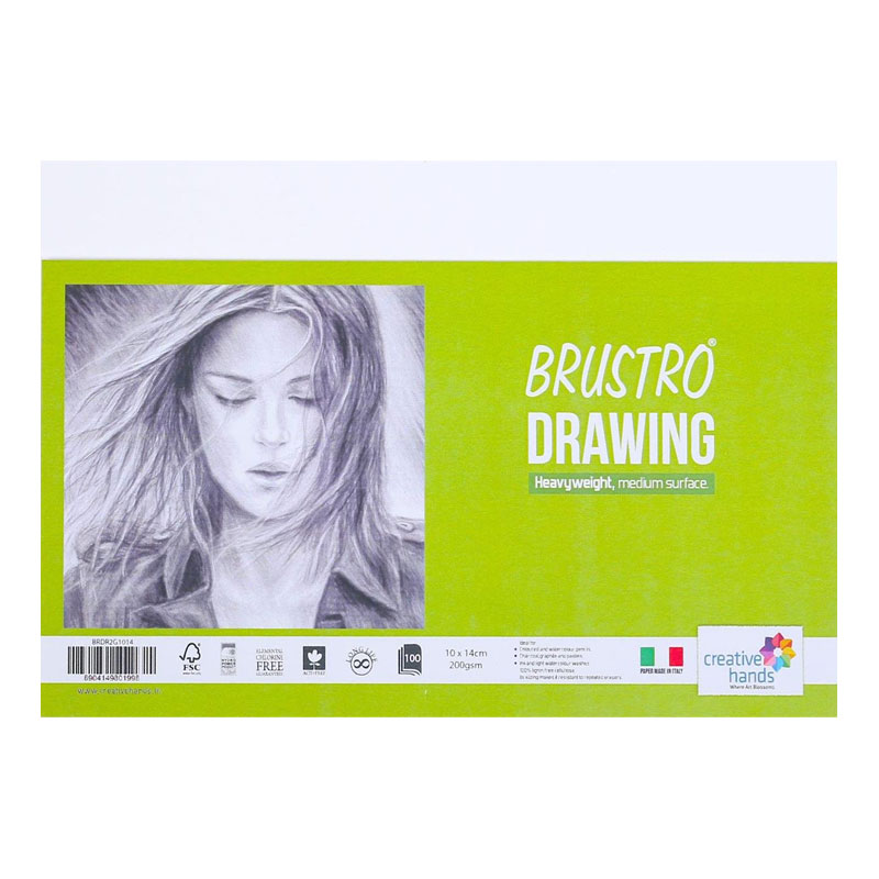 Brustro Drawing Paper A3 Size 200 GSM (Single Sheet)