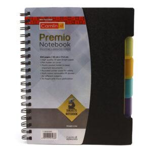 Camlin Kokuyo Premio Wiro Notebook B5 Size