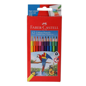 Faber-Castell Colour Pencil Full Size 12 Shades