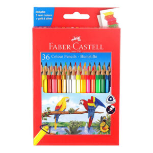 Faber-Castell Colour Pencil Full Size 36 Shades