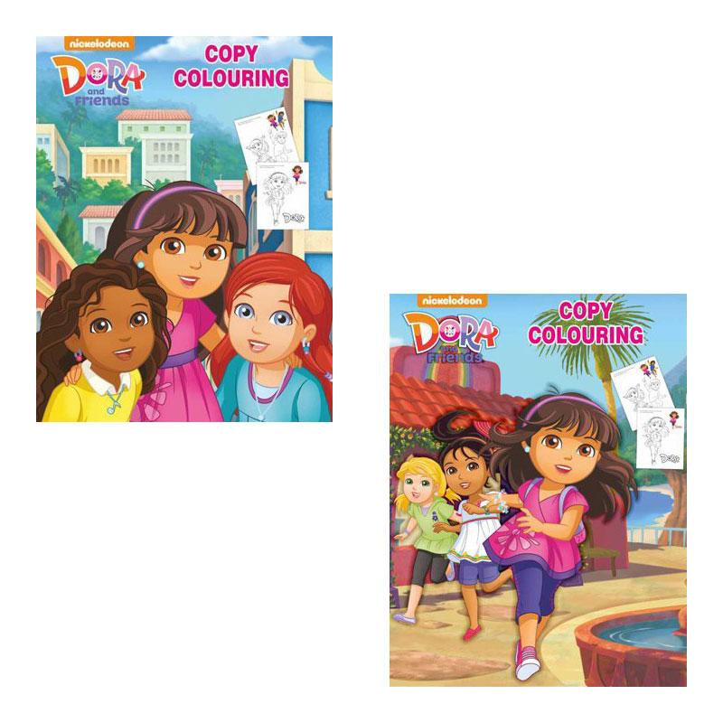 Sawan Dora Copy Colouring Book