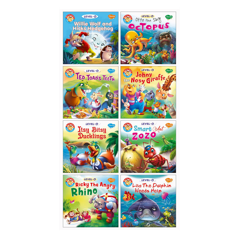 Book of different stories for toddlers to read and enjoy. The values and morals as presented in these stories, played an important role in igniting the young minds. So, it is vital to impart moral values to children. The stories will teach morals to children in an unique way.