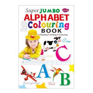 Super Jumbo Colouring Book Alphabet Colouring Book