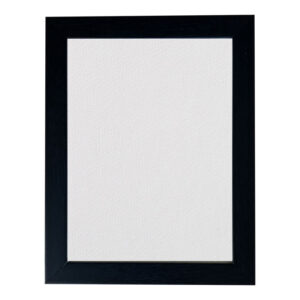 August Framed Canvas Board (White) Size Selectable