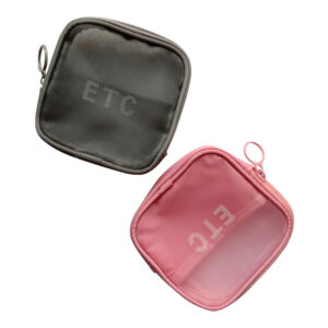 ETC His and Her Partition Multipurpose Pouch