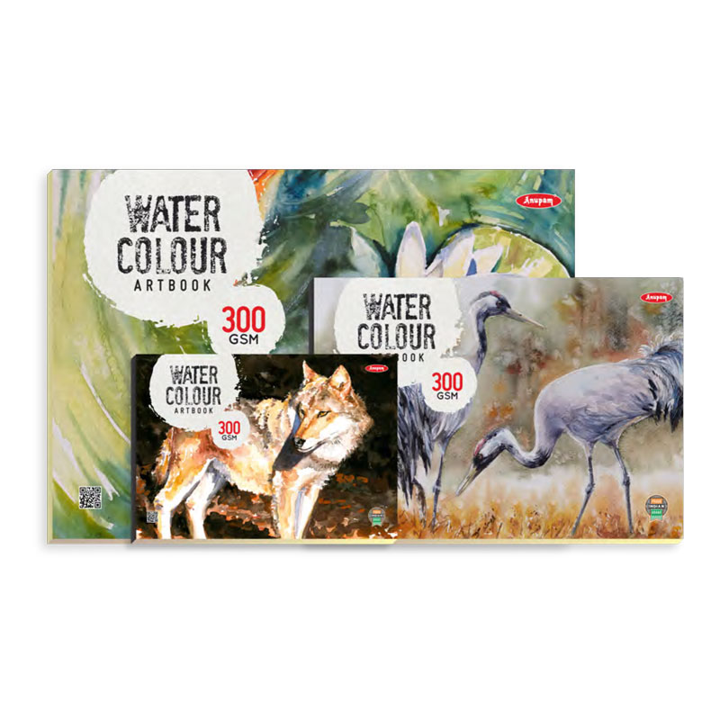 Watercolour Pad Book A4 Size 300 GSM