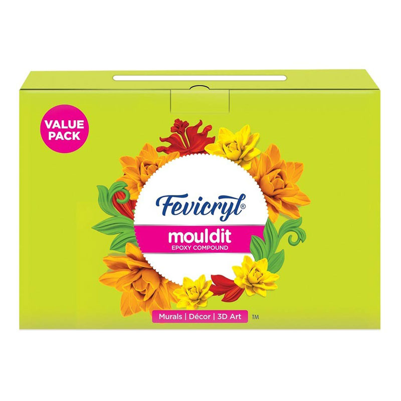 Fevicryl Mouldit (Shilpkar) Super Saver Pack
