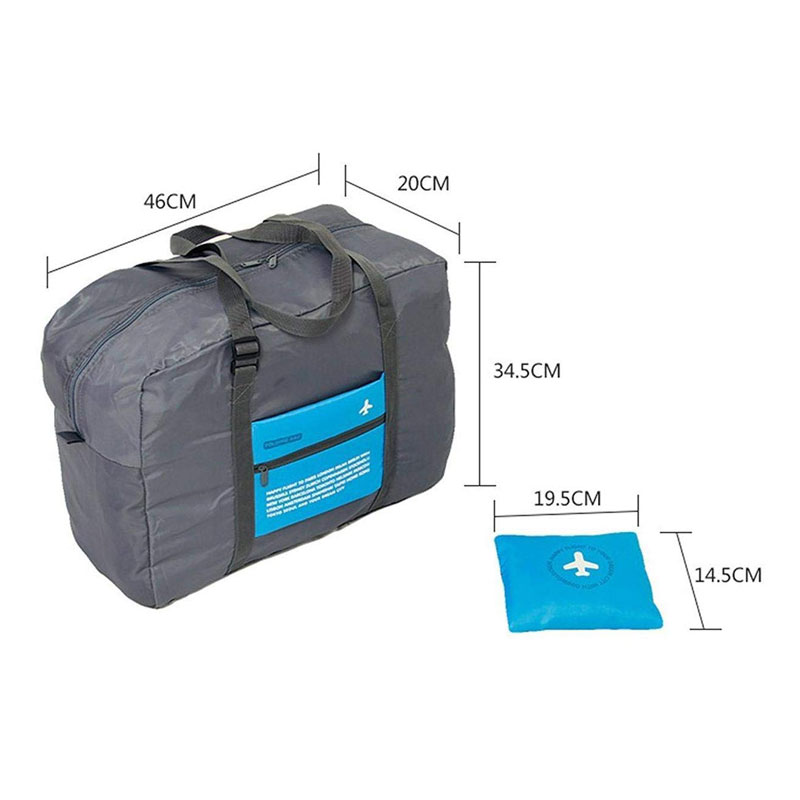 Foldable Shopping Bag/Travel Luggage Bag Dimensions