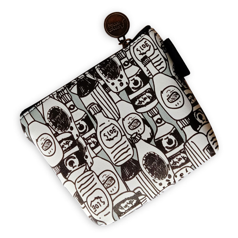 Square Printed Pouch