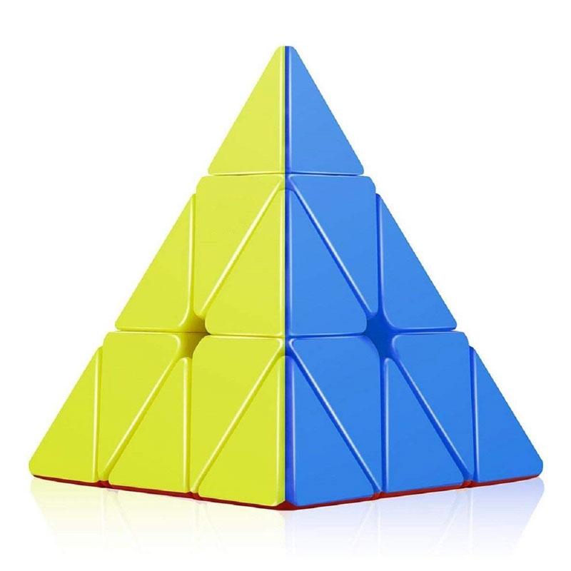 Sticker Less Rubik's Cube (Speed Cube) Triangle Pyramid